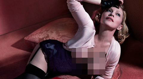 Topless, Interview, Madonna