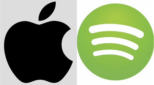 Brak, Apple, Spotify