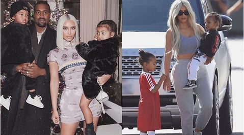 Chicago West, Kim Kardashian, Kanye West