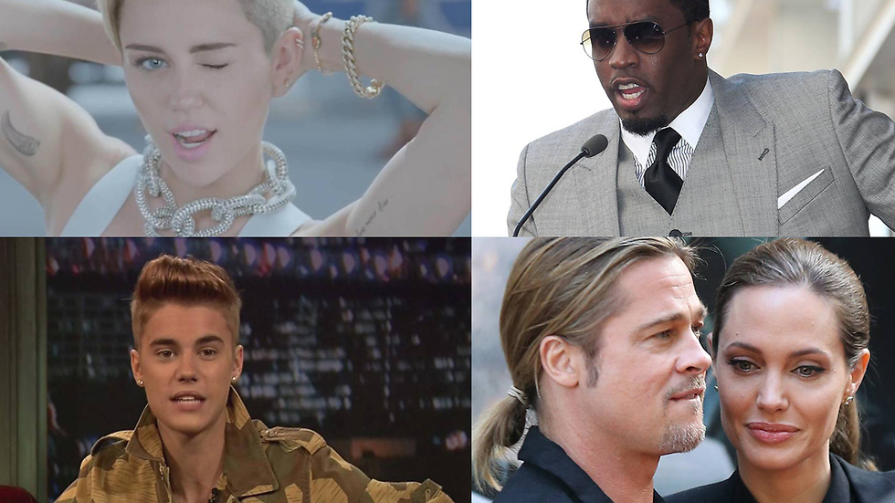 Miley Cyrus, P Diddy, Justin Bieber och Angelina Jolie –Forever alone?