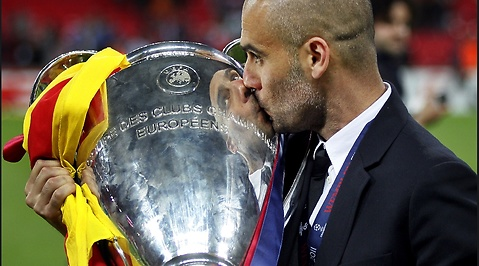 La Liga, Josep Guardiola, Barcelona, Pep Guardiola, Champions League, Fotboll
