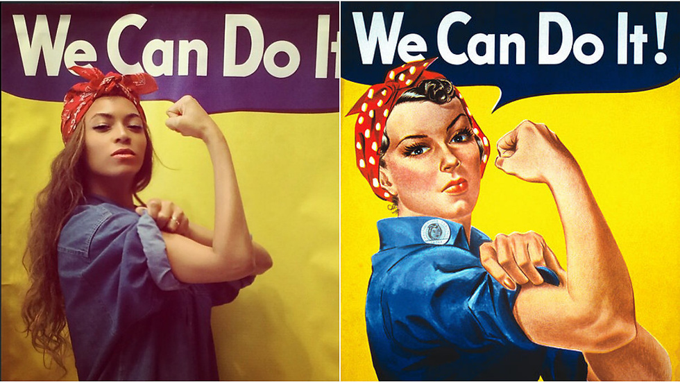 "Beyoncé tar ställning på Instagram: ""We Can Do It!"""