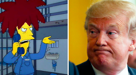 Mutor, Donald Trump, Demokraterna, The Simpsons, Ukraina
