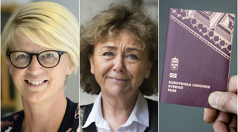Förfalskning, Beatrice Ask, Debatt, Elisabeth Svantesson, Pass