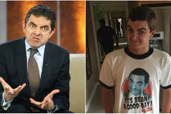 Mr Bean, Rowan Atkinson, Kopia, Lookalike