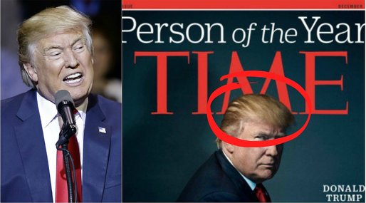 Time Magazine, Donald Trump