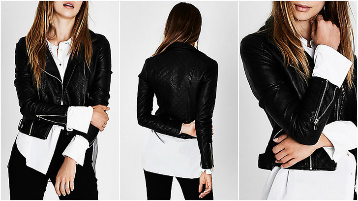 Faux Leather Jacket från River Island