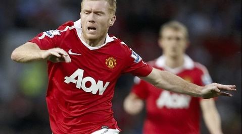 Paul Scholes, Premier League, Manchester United, Alex Ferguson