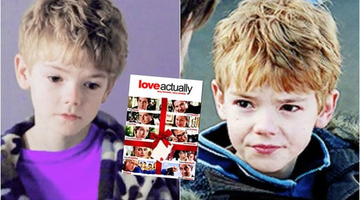 Love Actually, Thomas Sangster