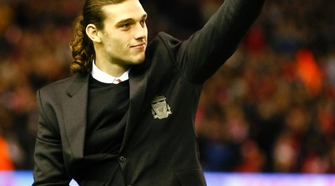 Andy Carroll, Debut, Liverpool, Fotboll, Manchester United, Premier League