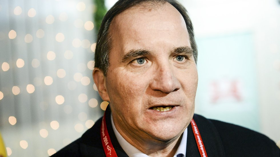 Stefan Löfven har lite problem just nu.