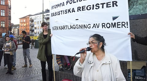 Romer, Polisen, Register