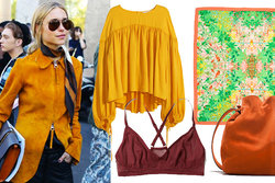 Trend, Tips, Shopping, Orange, Gul,  vår 2015
