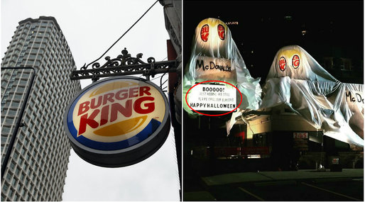 Burger King, McDonalds