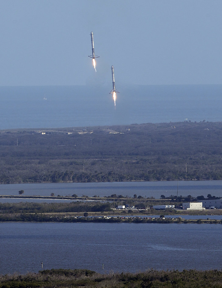 SpaceX, Falcon Heavy, Tesla