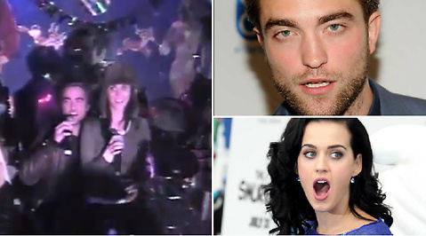 Robert Pattinson, Karaoke, Fest, Fylleri, Katy Perry