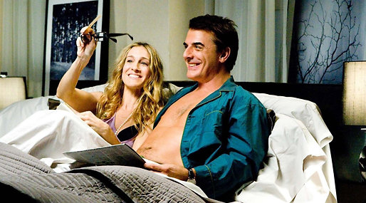 carrie, Sex and the city, Sarah Jessica Parker, Mr Big, Chris Noth