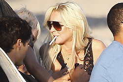 Paparazzi, Hollywood, Fest, Paris Hilton, Alkohol, Lindsay Lohan