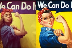 Beyonce,  We can do it, instagram, Feminism
