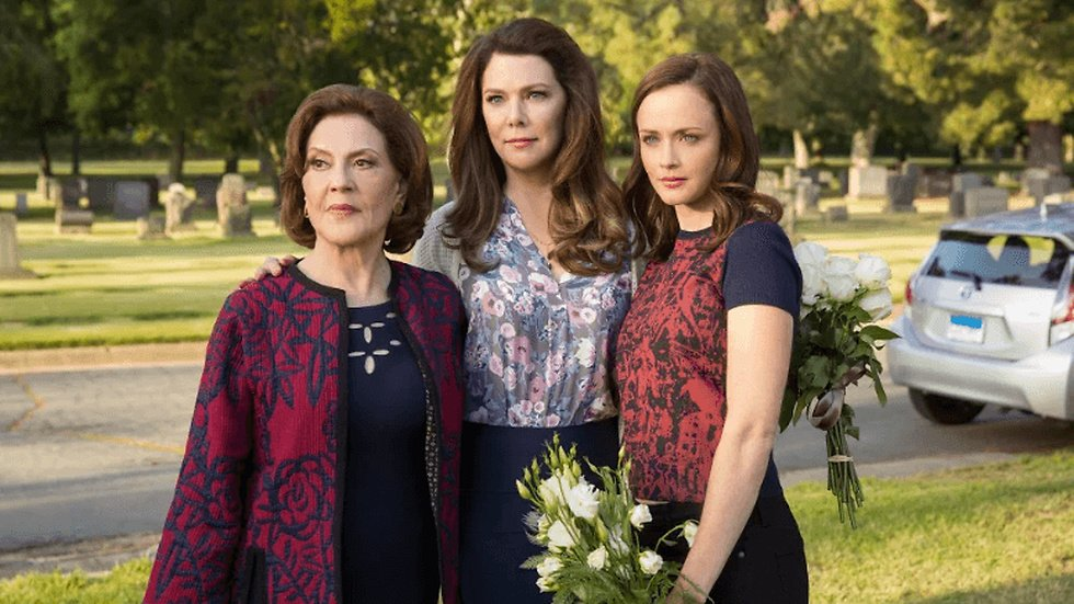 25 november kommer Gilmore girls a year in the life.