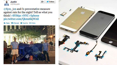Apple, Lansering, Apple Store, Twitter, Iphone