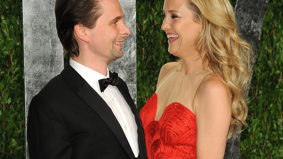 Matt Bellamy och Kate Hudson.