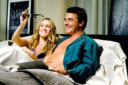 carrie, Sarah Jessica Parker, Mr Big, Sex and the city, Chris Noth