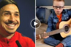 Zlatan Ibrahimovic, Max,  Internationell Downs syndromdagen, Downs syndrom