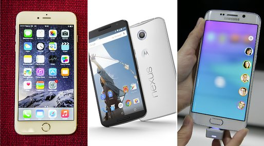 Samsung Galaxy S6, Apple, Android