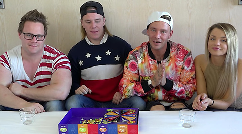 Joakim Lundell, Youtube, Christofer Berg, Jakob Berg