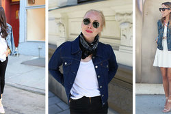 Trend, Outfits, Spring, Denim