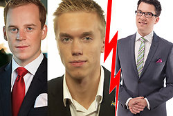 Jimmie Åkesson, Sverigedemokraterna, Gustav Kasselstrand, William Hahne