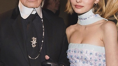 Mode, Johnny Depp, vanessa paradis, Modell, Lily Rose Depp, instagram