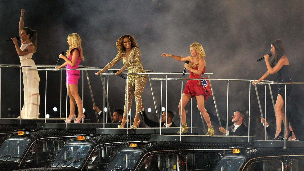 Spice Girls toppar.