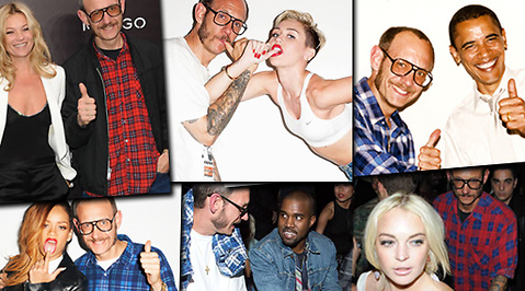 Barack Obama, Miley Cyrus, Terry Richardson