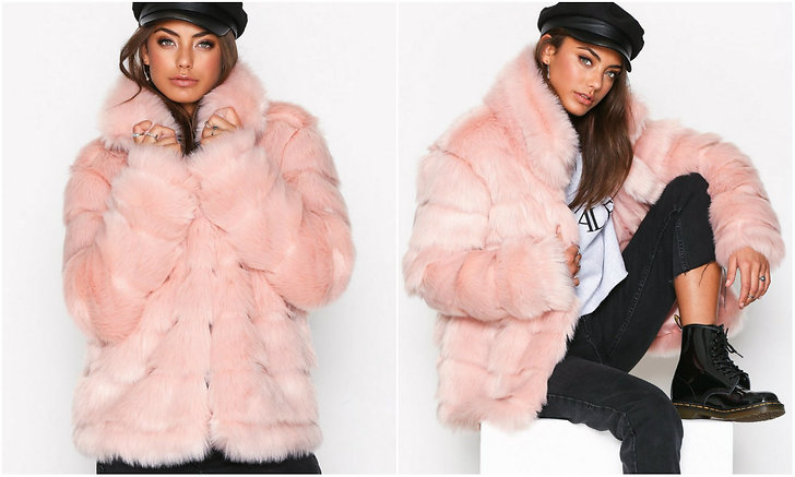 Fake fur pink Nelly