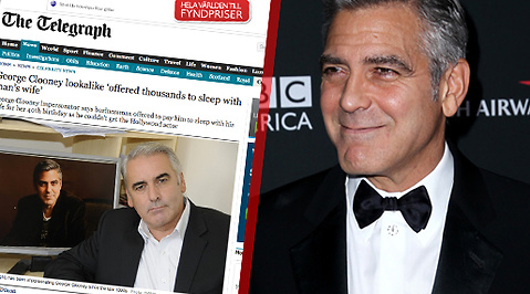 George Clooney, Body Double