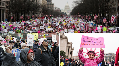 #metoo, The woman marches