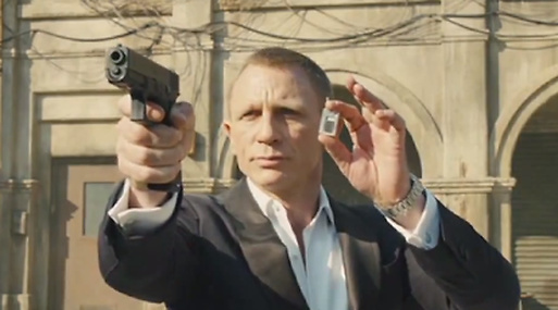 Parodi, James Bond, Skyfall, Youtube