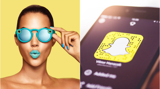 Spectacles, Snapchat