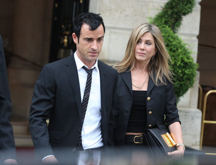 Jennifer Aniston och Justin Theroux.