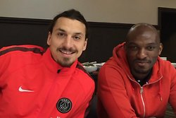 Zoumana Camara, Video, David Luiz, Zlatan Ibrahimovic, instagram