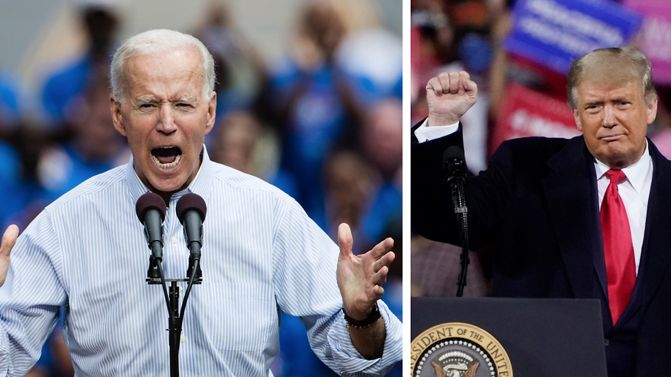 Donald Trump, Valet i USA 2020, Joe Biden