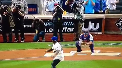 50Cent, mlb, First Pitch, New York Mets, Baseboll, Pittsburgh Pirates
