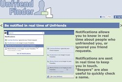 Unfriend finder, App, Applikation, Sociala Medier, Internet, Facebook