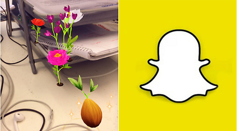 Snapchat, &Other; stories, linser