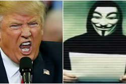 Hacker, Donald Trump,  n24video, Anonymus