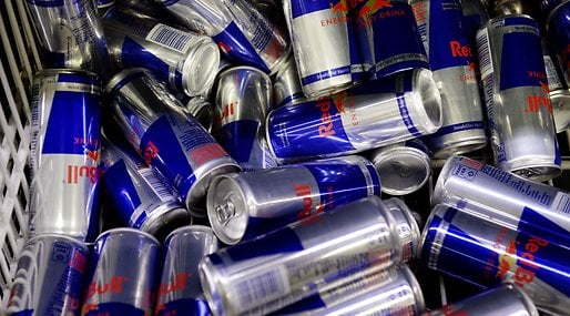 Red Bull, WHO, Energidryck