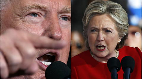 Hillary Clinton, USA, Donald Trump