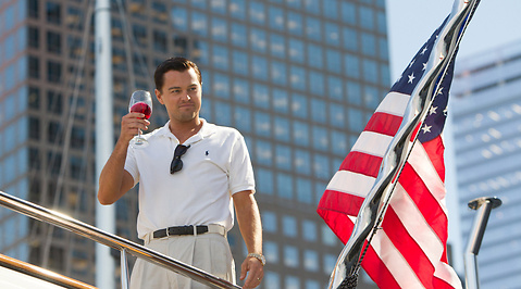 Recension, Wolf of Wall Street, Stereotyp, Leonardo DiCaprio, Hemmafru, Film